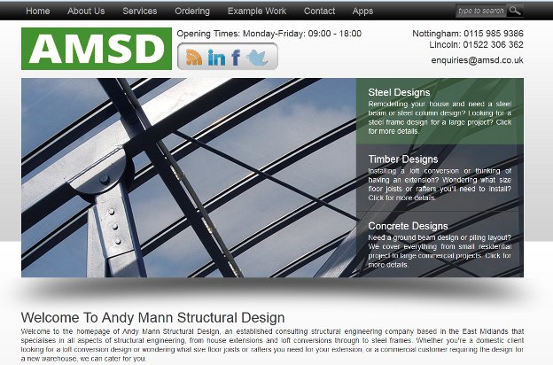 New AMSD Website